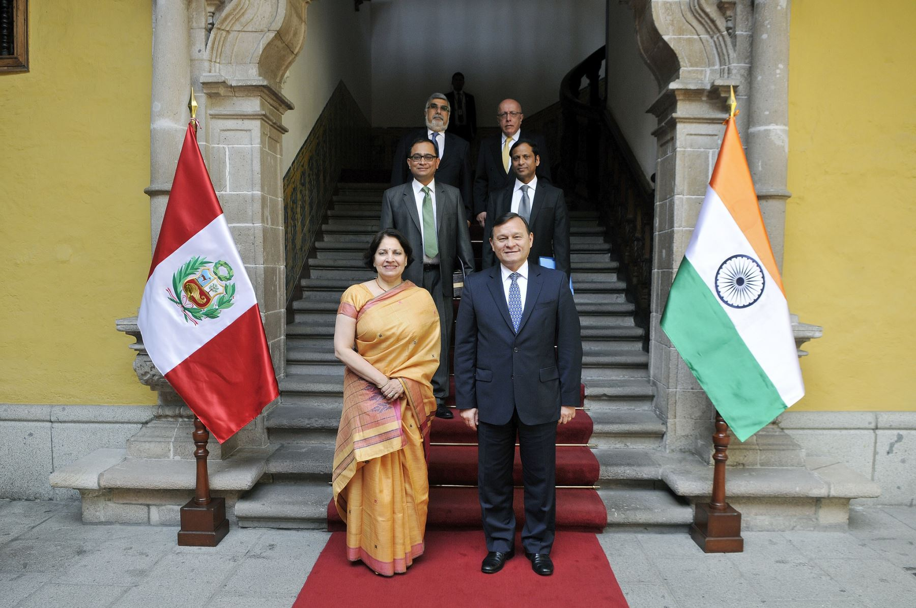 Peru, India hold first Mixed Commission meeting