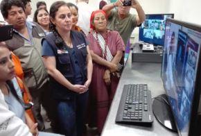 Junín: ministra de Salud lanza Telemamografía para prevenir cáncer de mama a distancia