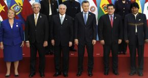 Reunión de Mercosur en Argentina. Foto: AFP