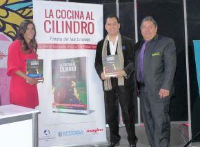 Feria del Libro: presentan libro sobre cocina al cilindro. Foto: ANDINA/Difusión.