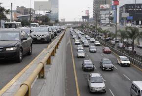 Tráfico vehicular en Lima. ANDINA/Eddy Ramos