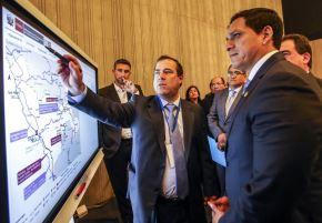 Ministro Bruno Giuffra presentó sistema de Mapeo de Proyectos que implementará el Ministerio de Transportes y Comunicaciones.