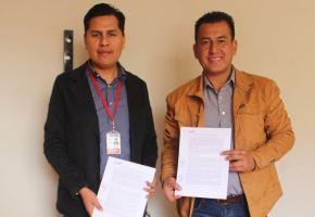 Municipalidad de Casma y programa Trabaja Perú firman convenio para crear puestos de trabajo en dicha provincia de Áncash. ANDINA