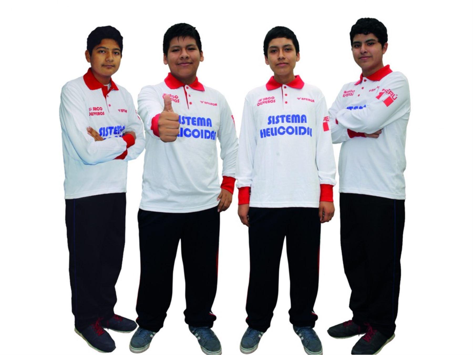 Escolares peruanos se coronaron campeones en Olimpiada Sudamericana Escolar de Matemática con puntaje perfecto. Foto: ANDINA/Difusión.