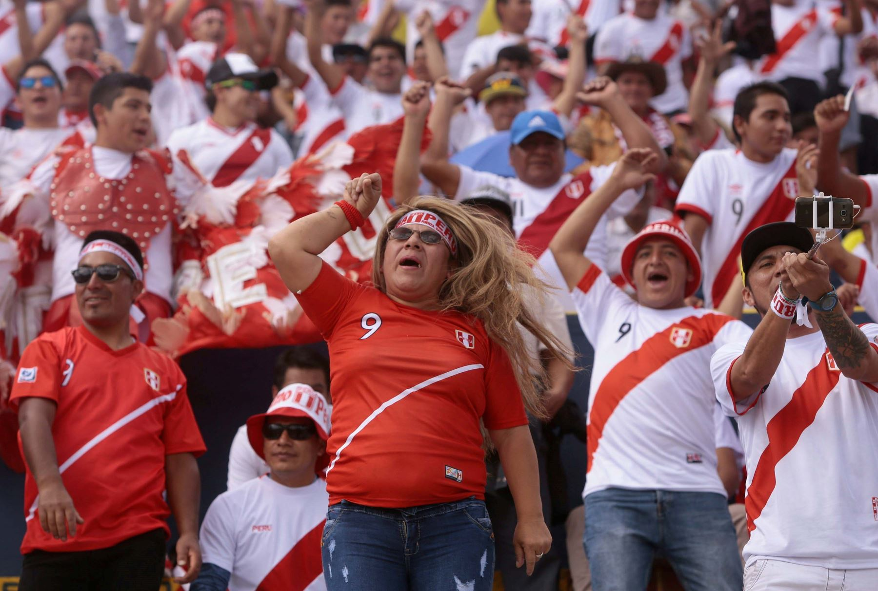 White peruvians