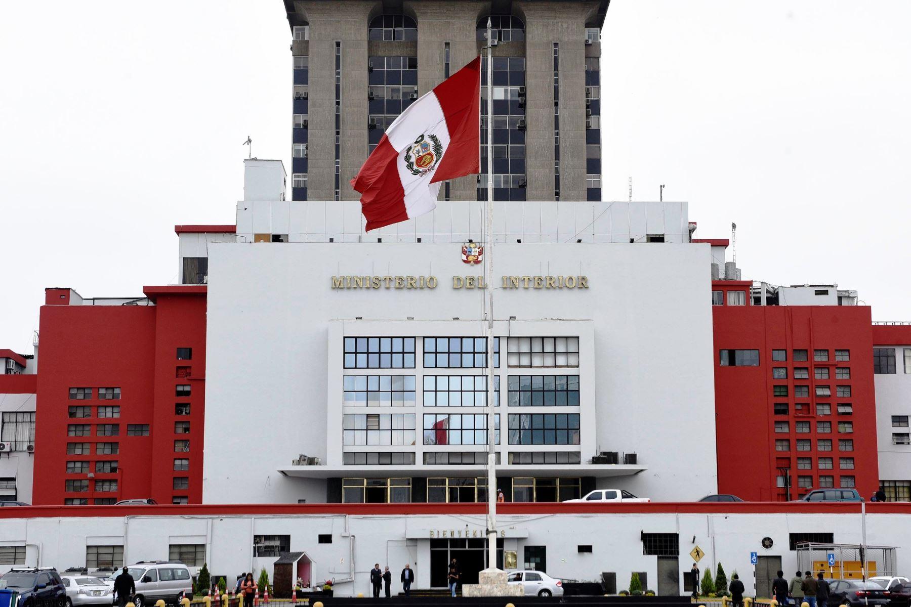 Mininter califica de preocupantes fallos judiciales que for Ministerio del interior antecedentes