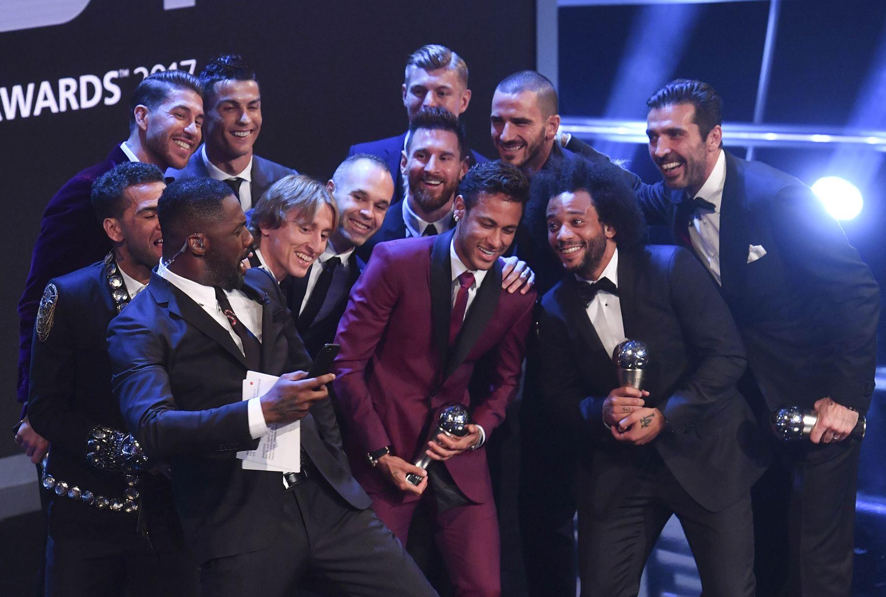 El Once Ideal de 2017 de la FIFA