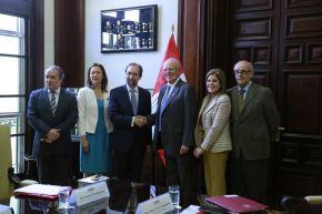 Presidente Pedro Pablo Kuczynski, se reunió en Palacio de Gobierno con Zeid Ra