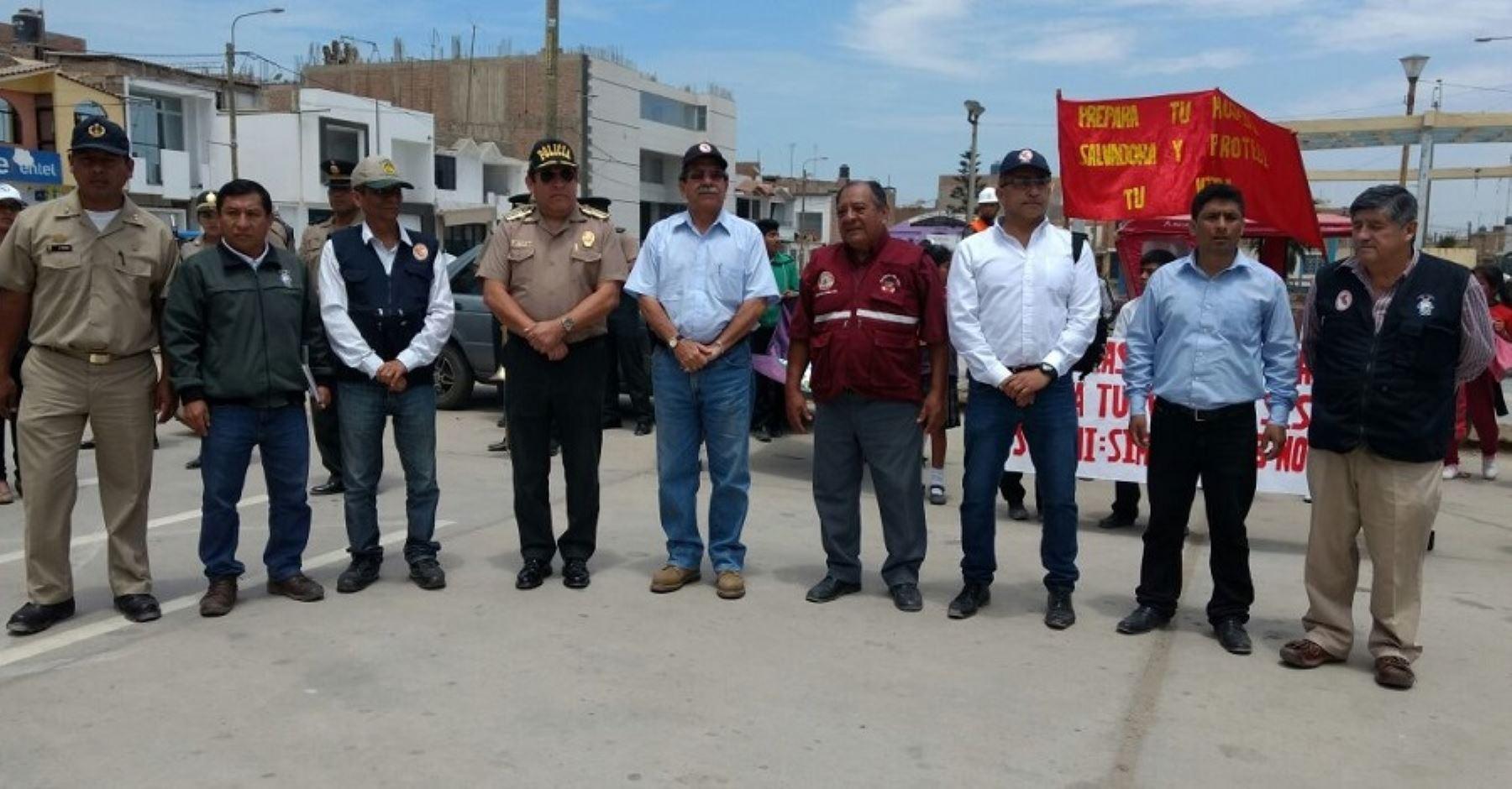 Preparan simulacro de sismo y tsunami en zonas costeras de Trujillo