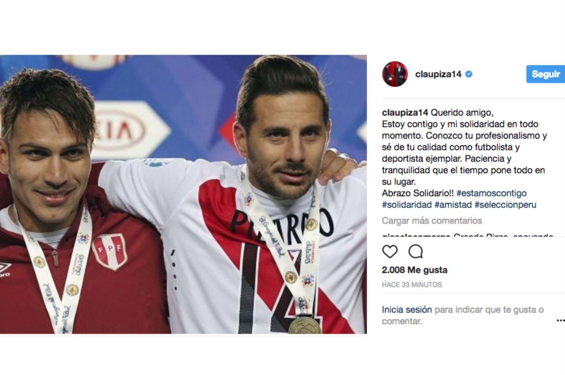 Reinaldo Rueda se pronuncia sobre la suspensión de Paolo Guerrero