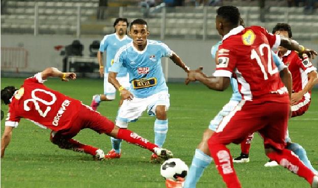 Sporting Cristal empató 2-2 con LDU
