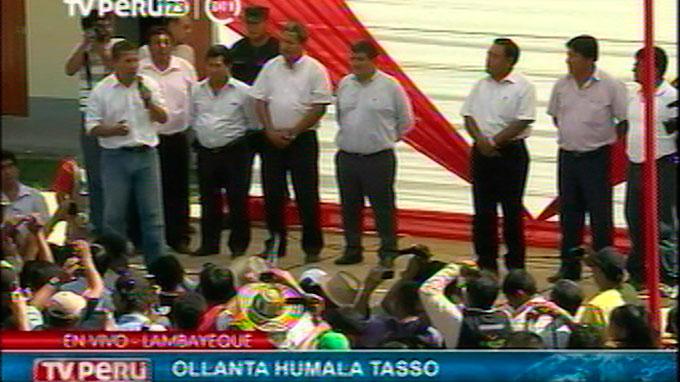 Presidente Humala inaugura obras en institución educativa de Lambayeque