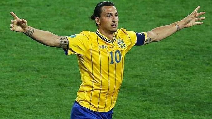 Con doblete de Ibrahimovic, Suecia superó 2-0 a Moldavia