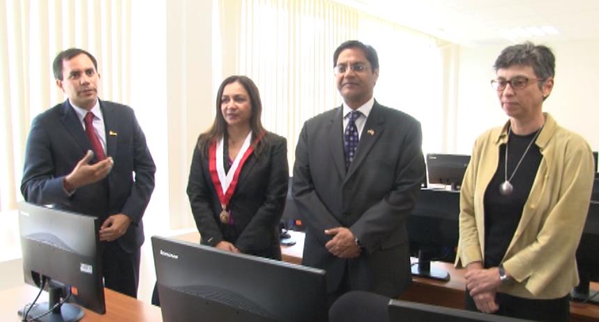 Perú-India inauguró el primer centro tecnológico de información en la UNI