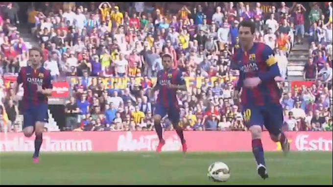 Barcelona venció 2-0 al Valencia con gol 400 de Messi