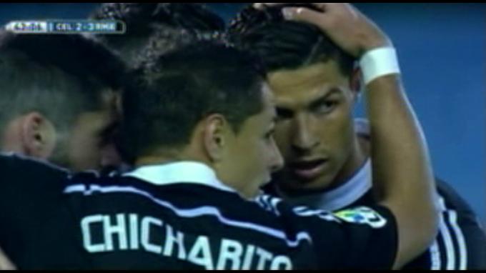 Real Madrid venció 4-2 al Celta de Vigo