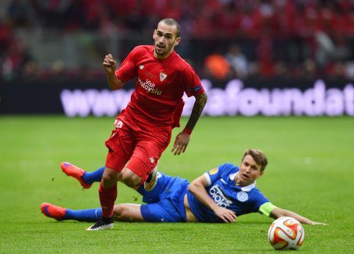 Sevilla y Dnipro igualan 2-2 en la final de la Europa League