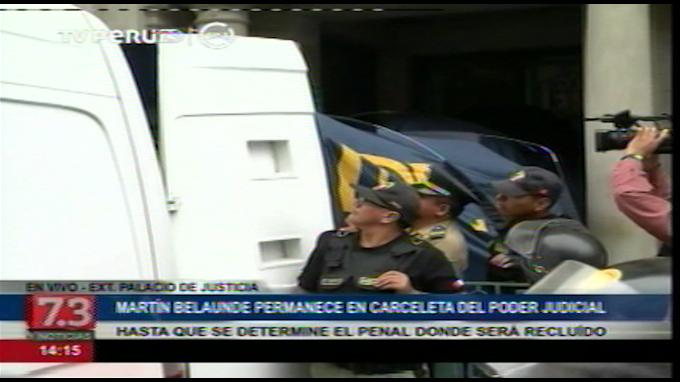 Belaunde Lossio es trasladado a penal Ancón I