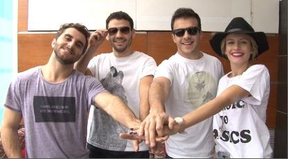 Banda argentina Agapornis toca en Lima