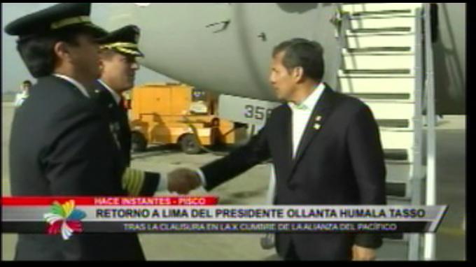 Presidentes de Alianza del Pacífico se despidieron de Paracas