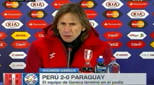 "Ricardo Gareca:""Nos vamos tranquilos porque entregamos todo"""