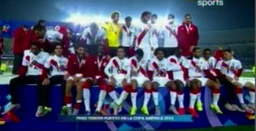 Mira la premiación de Perú con las medallas de bronce
