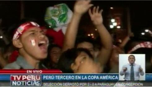 Así celebró el pueblo peruano la victoria de la selección