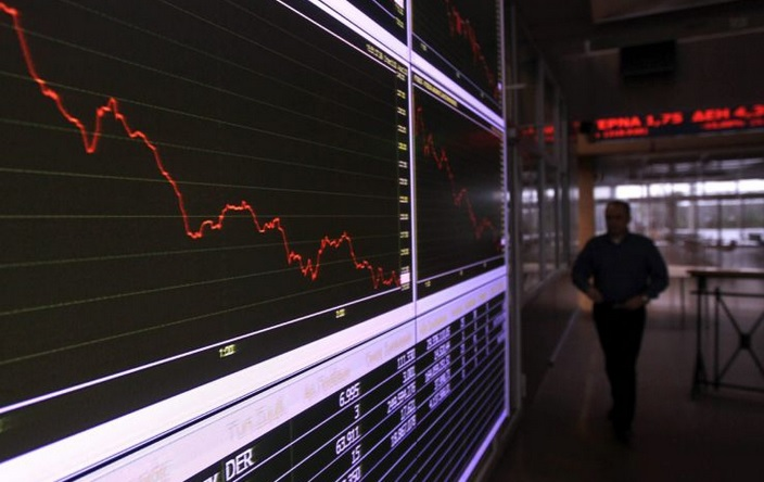 La bolsa de Atenas reabre con catastrófica caída del 23%