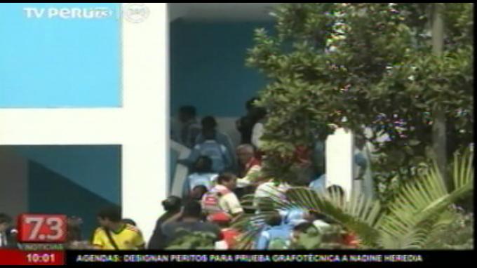 Escolares participaron en simulacro ante FEN en Chosica