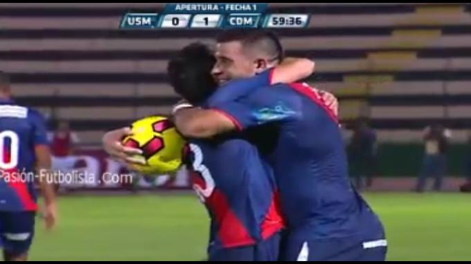 Municipal derrotó 1-0 a San Martín por el Apertura