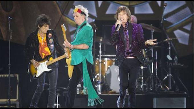 El concierto de Rolling Stones en Argentina