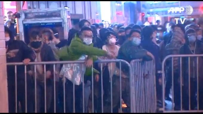 Año Nuevo chino provoca heridos en Hong Kong