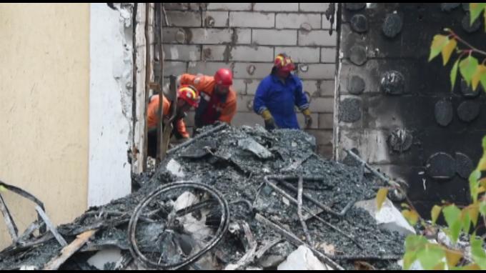 Ucrania: 17 muertos tras incendio en refugio para ancianos