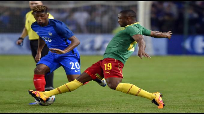 Francia derrota a Camerún 3 - 2
