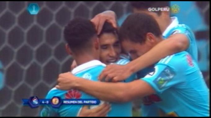 Sporting Cristal goleó 4-0 a UTC