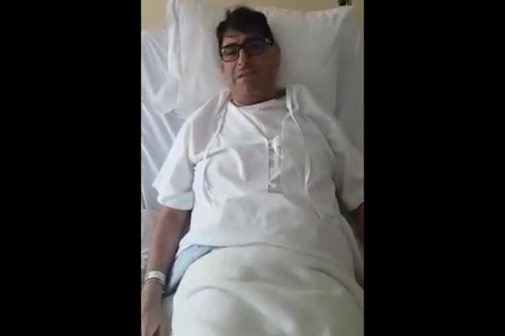 Carlos Alvarez agradece preocupación por su salud