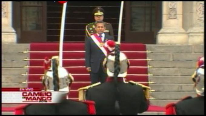 Últimas actividades oficiales de Ollanta Humala como presidente de la República