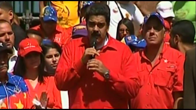Maduro amenaza con cárcel a opositores si su marcha es violenta