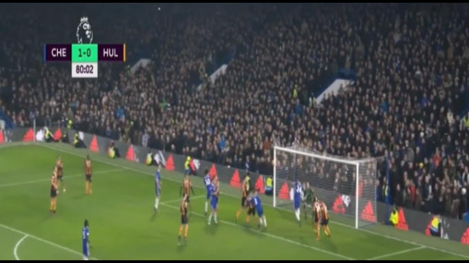 Chelsea supera al Hull City con un gol de