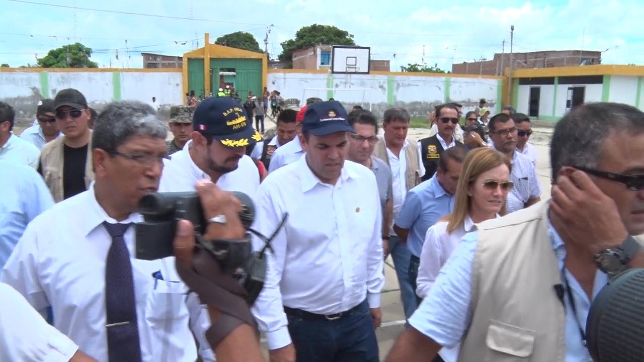 Jefe del Gabinete realizó visita de inspección en Tumbes