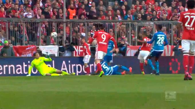 El Bayern Múnich vapuleó 8-0 al Hamburgo