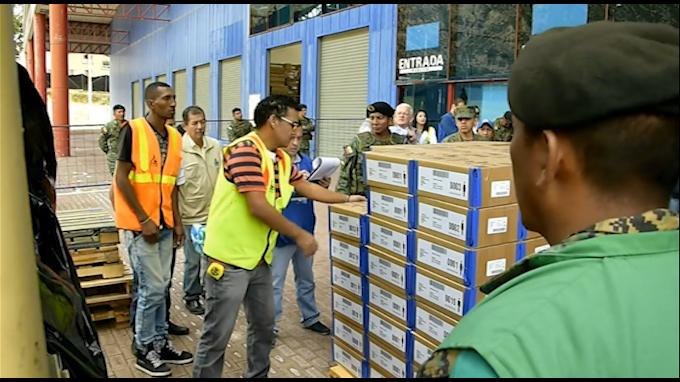 Ecuador: verifican material electoral para segunda vuelta