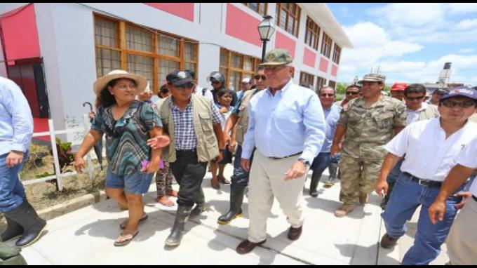 Construirán centros de refugio seguros para trasladar 10 000 personas en Piura