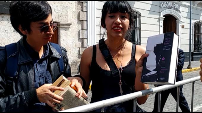 Fanáticos de Nóbel de Literatura viajan desde Cusco para verlo