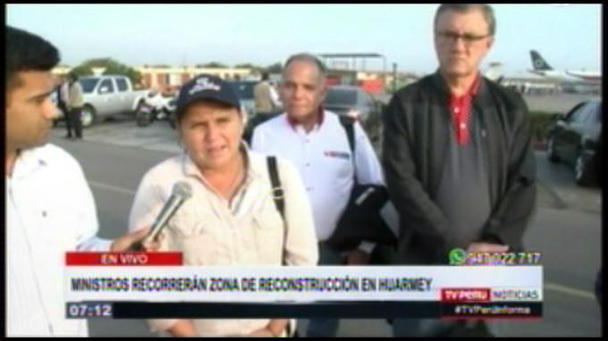 Ministra Pérez Tello confía que Congreso respalde proceso de reconstrucción