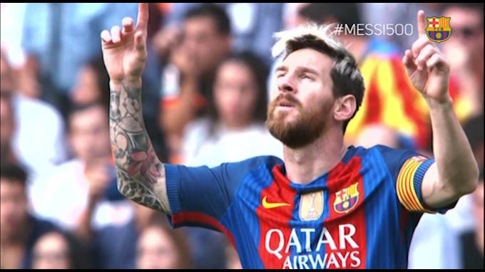 Messi: 500 goles y el video homenaje del Barcelona