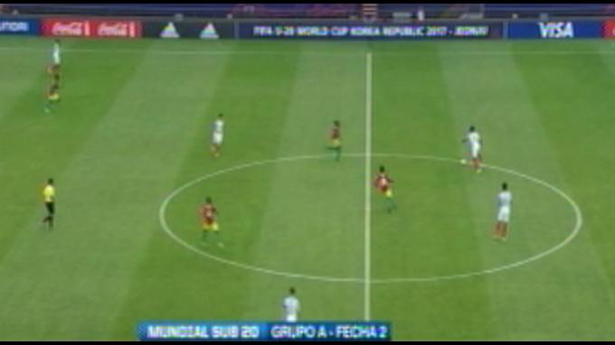 Mundial Sub20: Inglaterra empata 1-1 con Guinea
