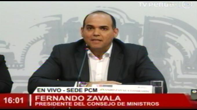 Zavala: Una cosa es el control político y otra el abuso de poder