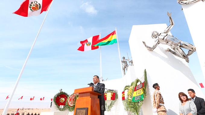 Tacna celebra 137 años de la Batalla del Alto de la Alianza