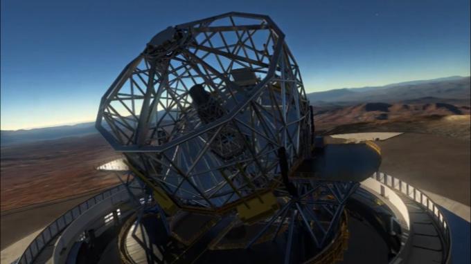 Chile inicia la construcción del mayor telescopio del mundo